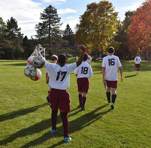 soccer athletics at the best private school in Albany, New York